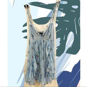 Blue Abercrombie & Fitch Dress